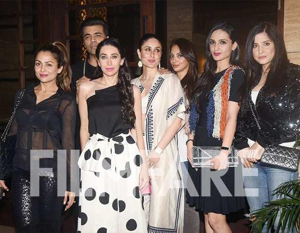 Amrita Arora, Karisma Kapoor, Karan Johar, Kareena Kapoor Khan