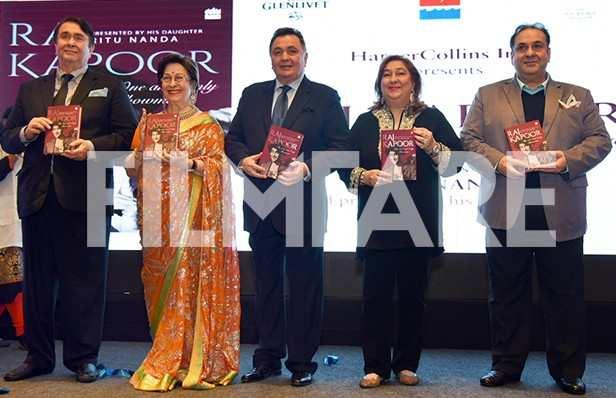 Randhir Kapoor, Rishi Kapoor, Reema Kapoor, Rajiv Kapoor
