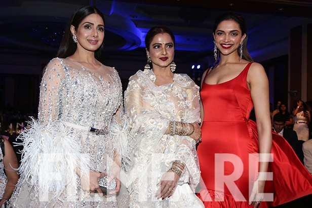Sridevi, Rekha, Deepika Padukone