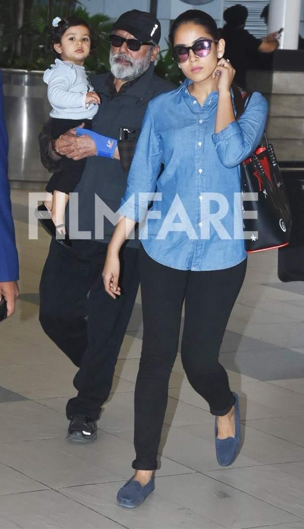 Misha Kapoor, Pankaj Kapoor, Mira Rajput Kapoor