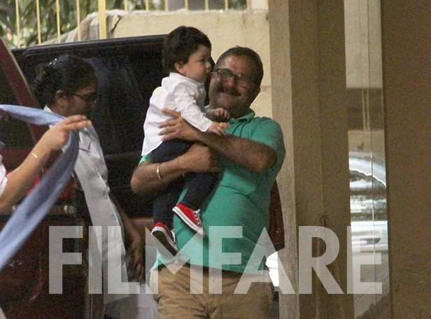 Cuteness Overload! Taimur Ali Khan makes an appearance ahead of his first birthday