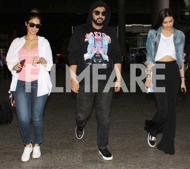 Ileana DCruz, Arjun Kapoor and Athiya Shetty