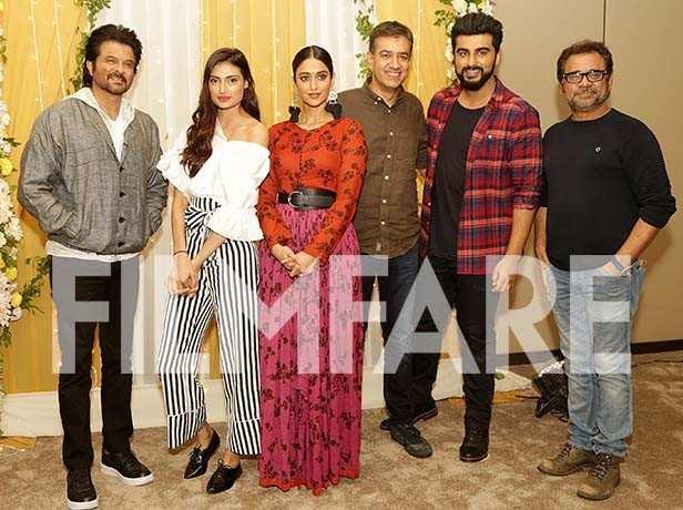 Arjun Kapoor, Ileana DCruz, Anil Kapoor and Athiya Shetty
