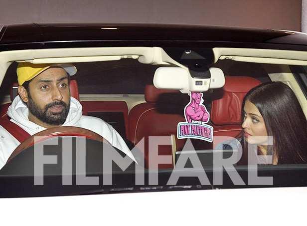 Abhishek Bachchan, Aishwarya Rai Bachchan, Karan Johar, Manish Malhotra