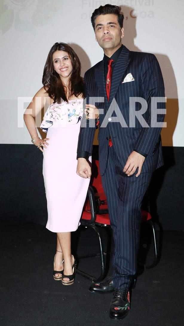 Ekta Kapoor, Karan Johar