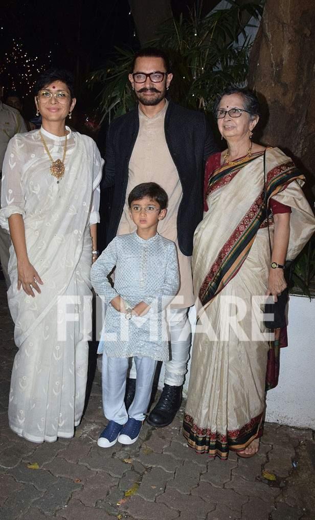 Kiran Rao, Azad Rao Khan, Aamir Khan