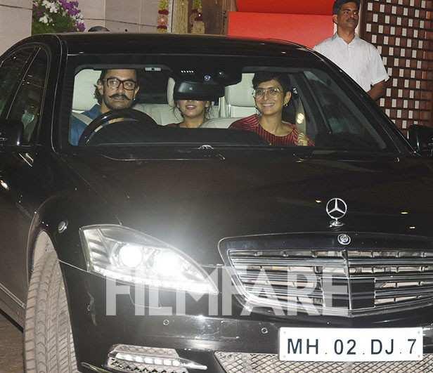 Aamir Khan, Kiran Rao, Huma Quereshi, Advait Chauhan