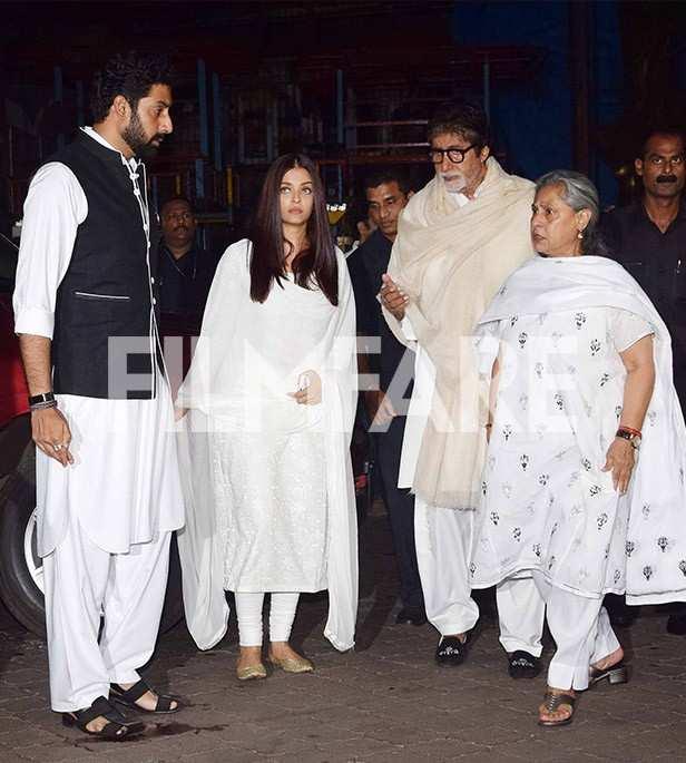 Abhishek Bachchan, Aishwarya Rai Bachchan, Jaya Bachchan, Amitabh Bachchan