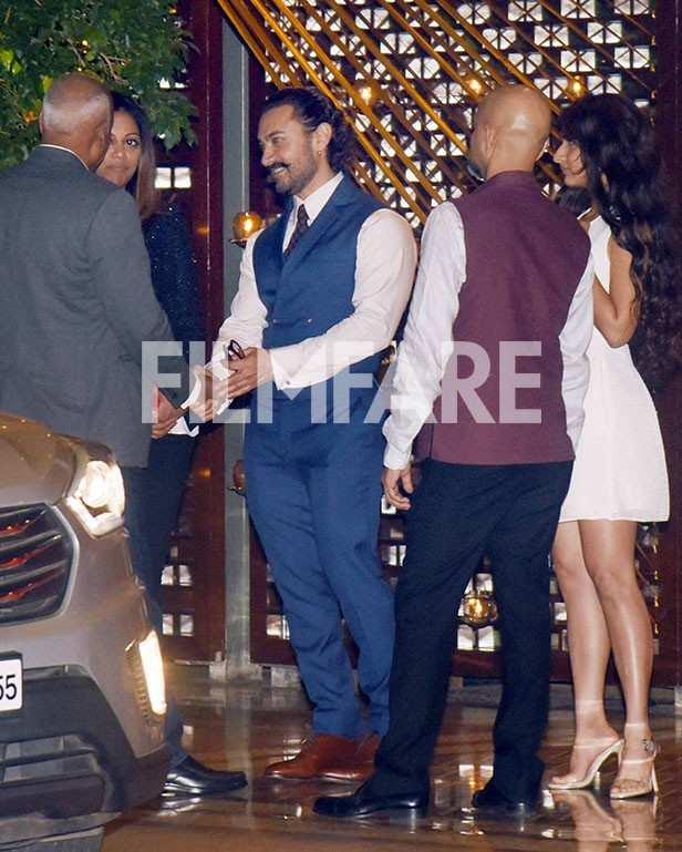 Aamir Khan, Karan Johar, Kunal Kapoor, Rajkummar Rao