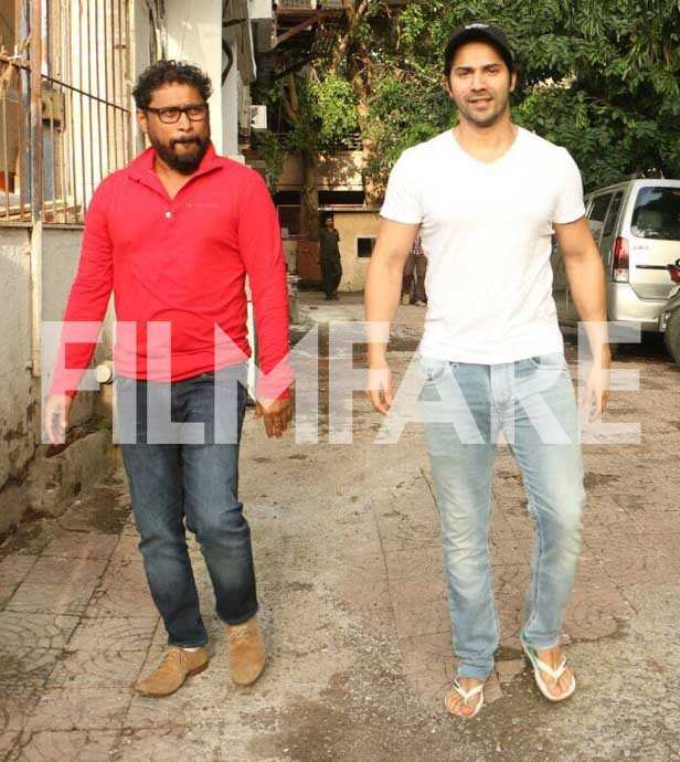 Shoojit Sircar and Varun Dhawan
