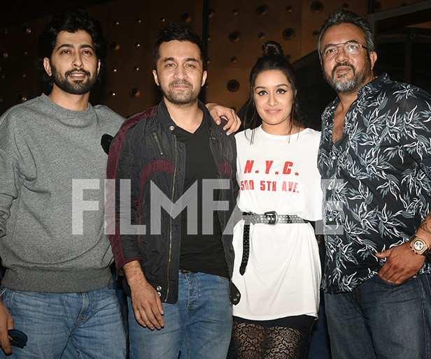 Siddhant Kapoor, Shraddha Kapoor, Apoorva Lakhia