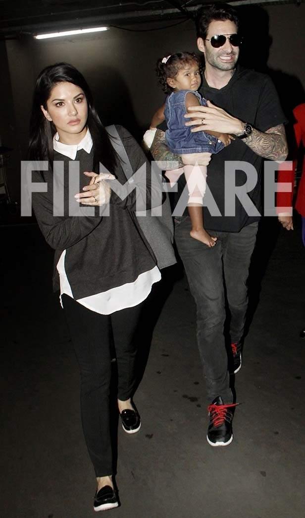 Sunny Leone, Daniel Weber, Nisha