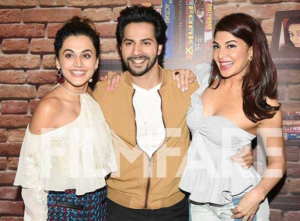 photos taapsee pannu varun dhawan and jacqueline