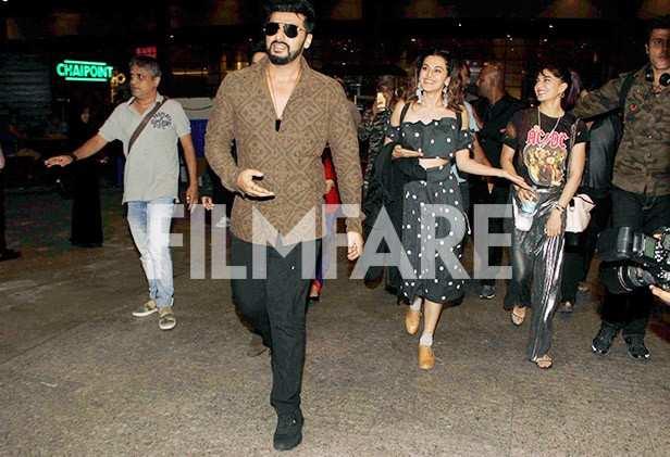 Arjun Kapoor, Varun Dhawan, Jacqueline Fernandez, Taapsee Pannu