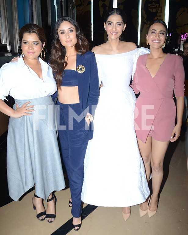 Sonam Kapoor, Kareena Kapoor, Swara Bhaskar