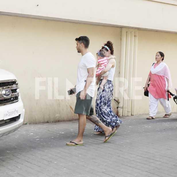 Kunal Kemmu, Inaaya Naumi Kemmu, Soha Ali Khan