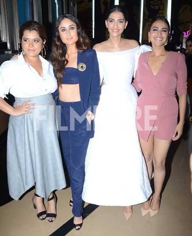 Kareena Kapoor Khan, Sonam Kapoor, Swara Bhaskar