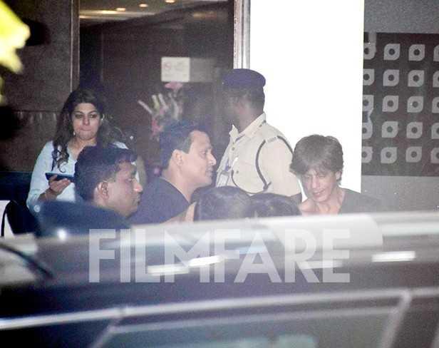 Shah Rukh Khan, AbRam Khan, Gauri Khan, Suhana Khan
