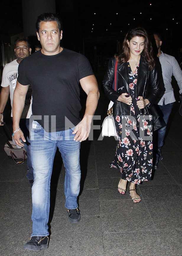Salman Khan, Jacqueline Fernandez, Bobby Deol, Saqib Saleem