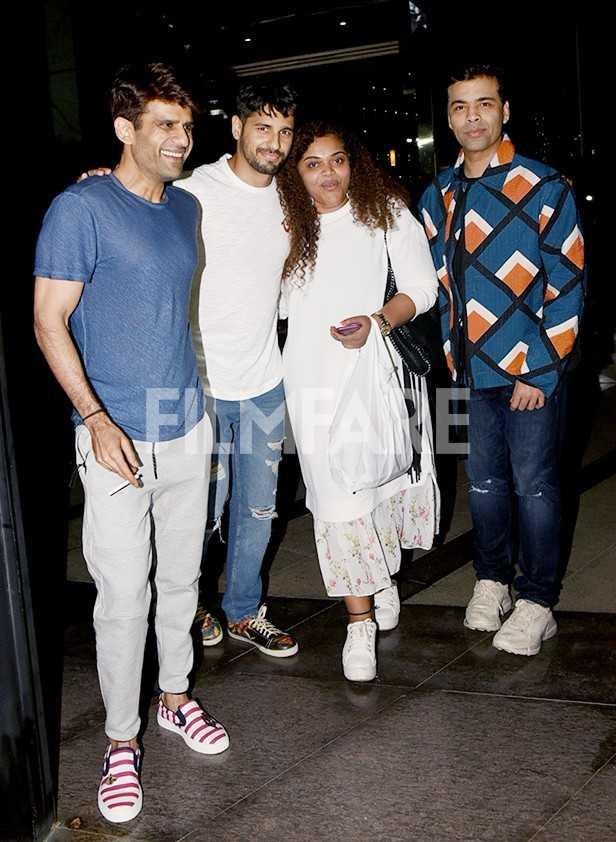 Karan Johar, Sidharth Malhotra