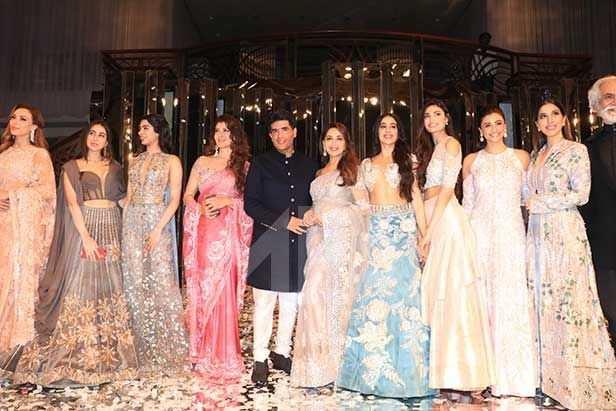Iulia Vantur, Sara Ali Khan, Khushi Kapoor, Sangeeta Bijlani, Manish Malhotra, Madhuri Dixit, Janhvi Kapoor, Athiya Shetty, Huma Qureshi, Sophie Choudry