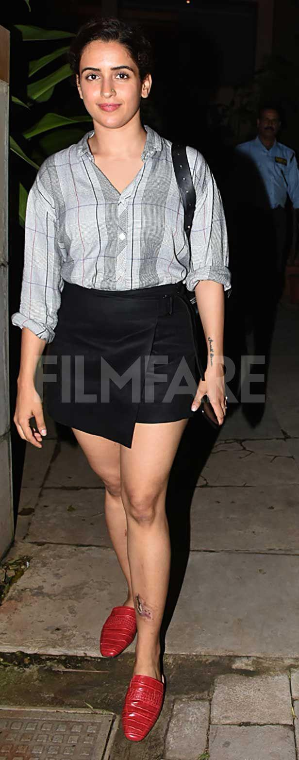 Sanya Malhotra, Fatima Sana Shaikh