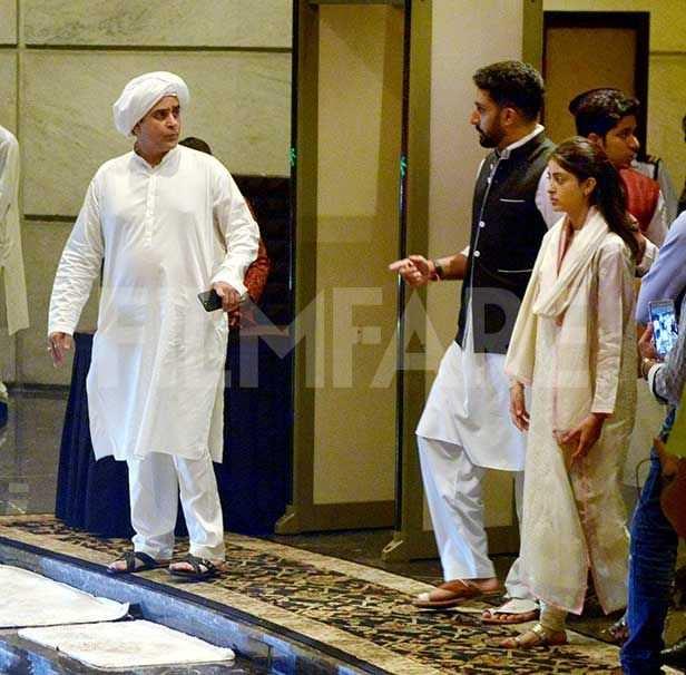 Amitabh Bachchan, Abhishek Bachchan, Shweta Bachchan, Nanda, Navya Naveli Nanda, Nikhil Nanda