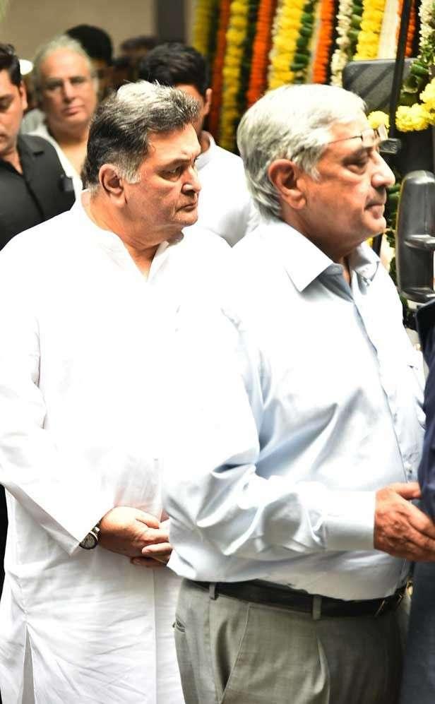 Rishi Kapoor, Randhir Kapoor, Boney Kapoor, Abhishek Bachchan