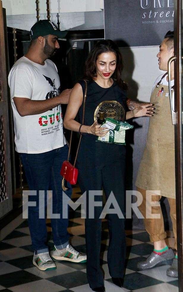 Arjun Kapoor, Malaika Arora, Filmfare