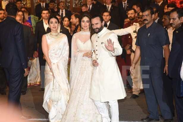 Karisma Kapoor, Kareena Kapoor Khan, Saif Ali Khan