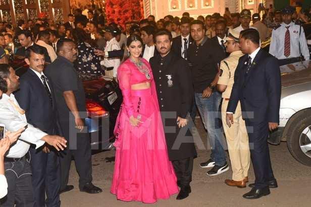 Sonam Kapoor Ahuja, Anil Kapoor