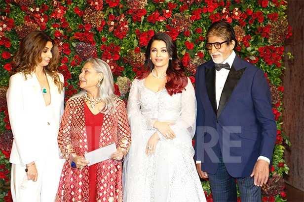 Shweta Bachchan Nanda,Jaya Bachchan, Aishwarya Rai Bachchan, Amitabh Bachchan