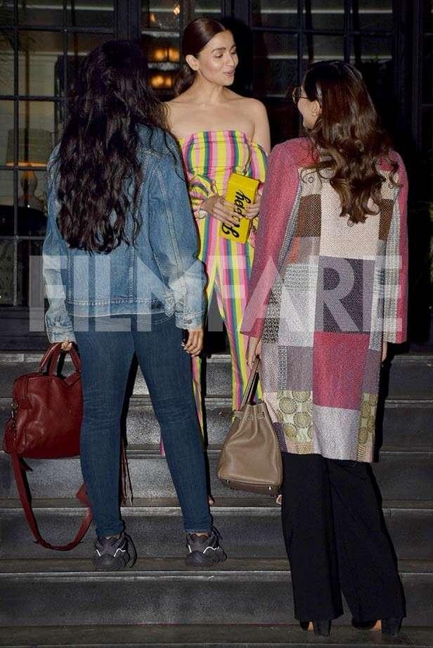 Sonam Kapoor, Alia Bhatt, Rhea Kapoor