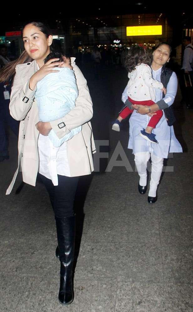 Mira Kapoor, Zain Kapoor, Misha Kapoor
