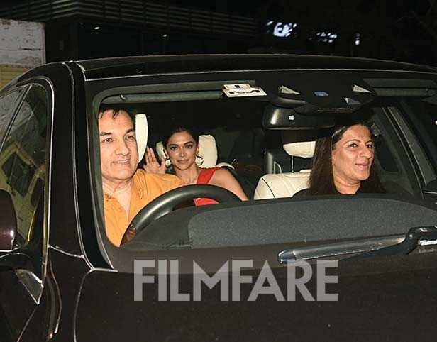 Jagjit Singh Bhavnani, Deepika Padukone, Anju Bhavnani