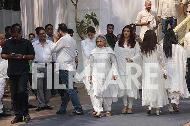 Aishwarya Rai Bachchan, Jaya Bachchan, Shweta Bachchan-Nanda