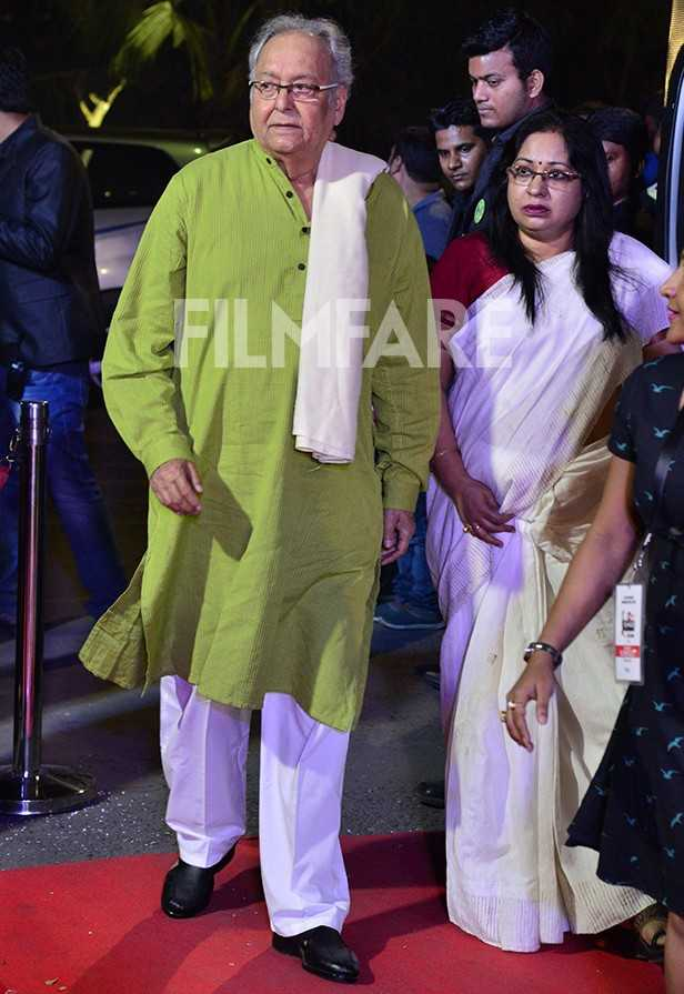 Soumitra Chatterjee, Prosenjit Chatterjee