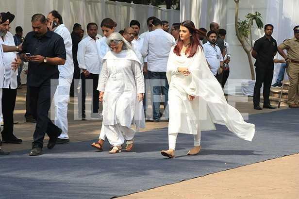 Jaya Bachchan, Shweta Bachchan-Nanda, Aishwarya Rai Bachchan