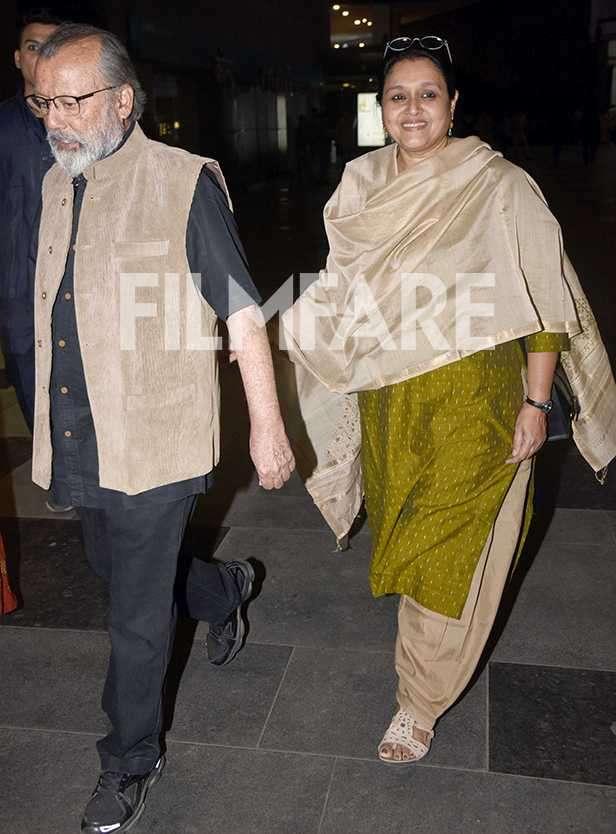 Sanah Kapoor, Pankaj Kapur, Supriya Pathak