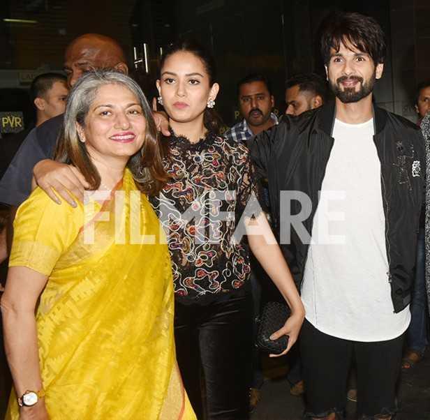 Mira Rajput Kapoor, Shahid Kapoor, Ishaan Khatter, Neelima Azeem