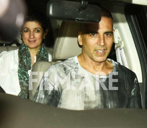 Akshay Kumar, Twinkle Khanna, Aarav Kumar
