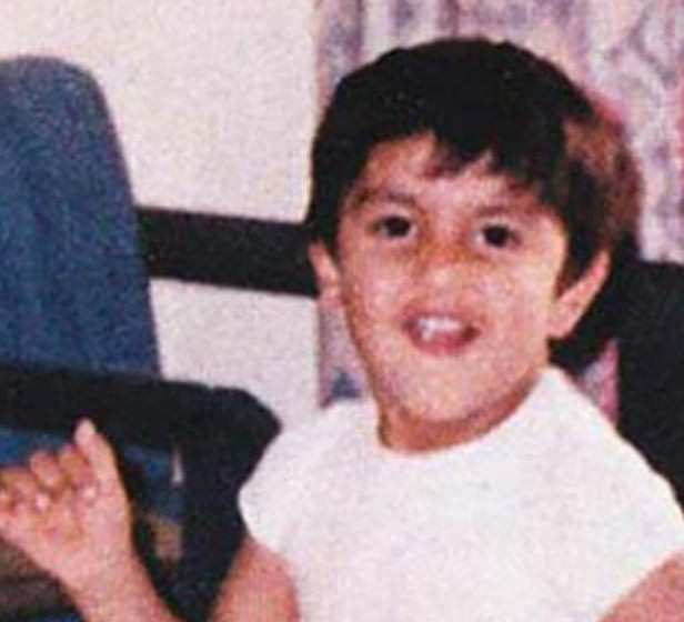 Ranveer Singh as a kid.