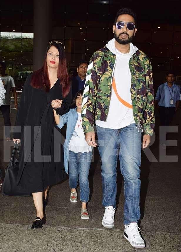 Abhishek Bachchan, Aishwarya Rai Bachchan, Aaradhya Bachchan
