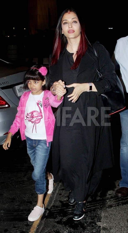 Aaradhya Bachchan, Aishwarya Rai Bachchan