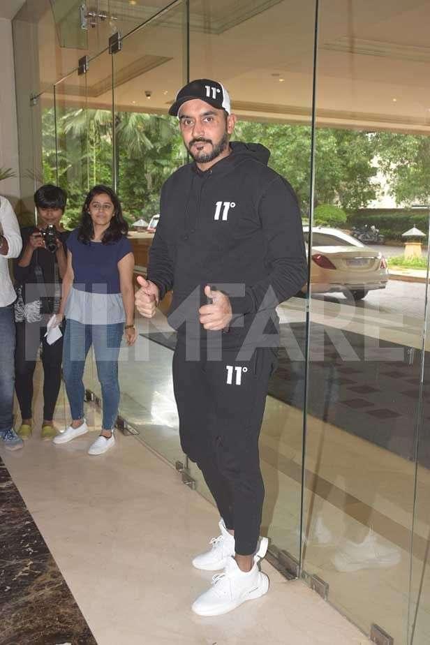 Karan Johar, Ishaan Khatter, Janhvi Kapoor, Shashank Khaitan