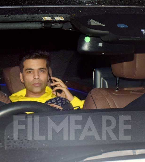 Karan Johar, Diljit Dosanjh, Shaad Ali