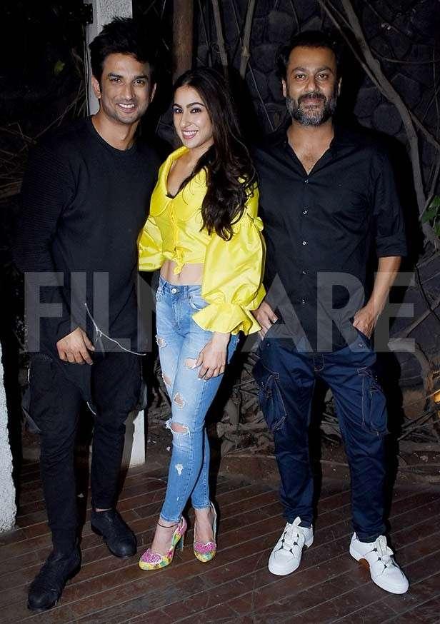 Sushant Singh Rajput, Sara Ali Khan, Abhishek Kapoor