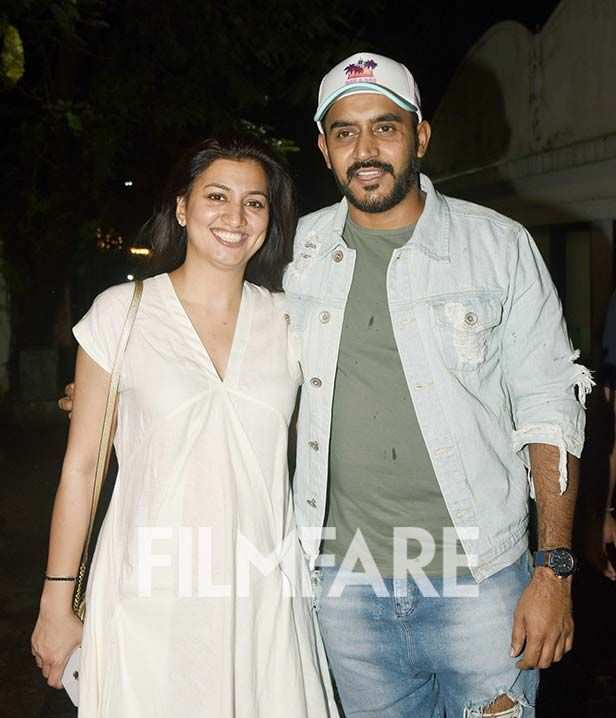 Shashank Khaitan with his wife