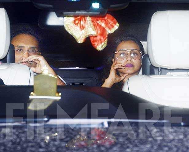 Aditya Chopra, Rani Mukerji
