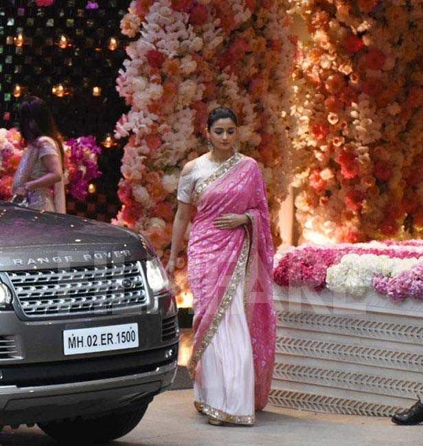 Alia Bhatt, Anjali Tendulkar, Sachin Tendulkar